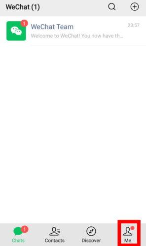 انشاء حساب وي شات التسجيل في Wechat فكرة نت العربي